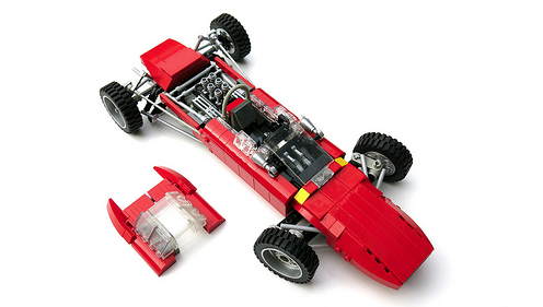 Ferrari 156 Race Car