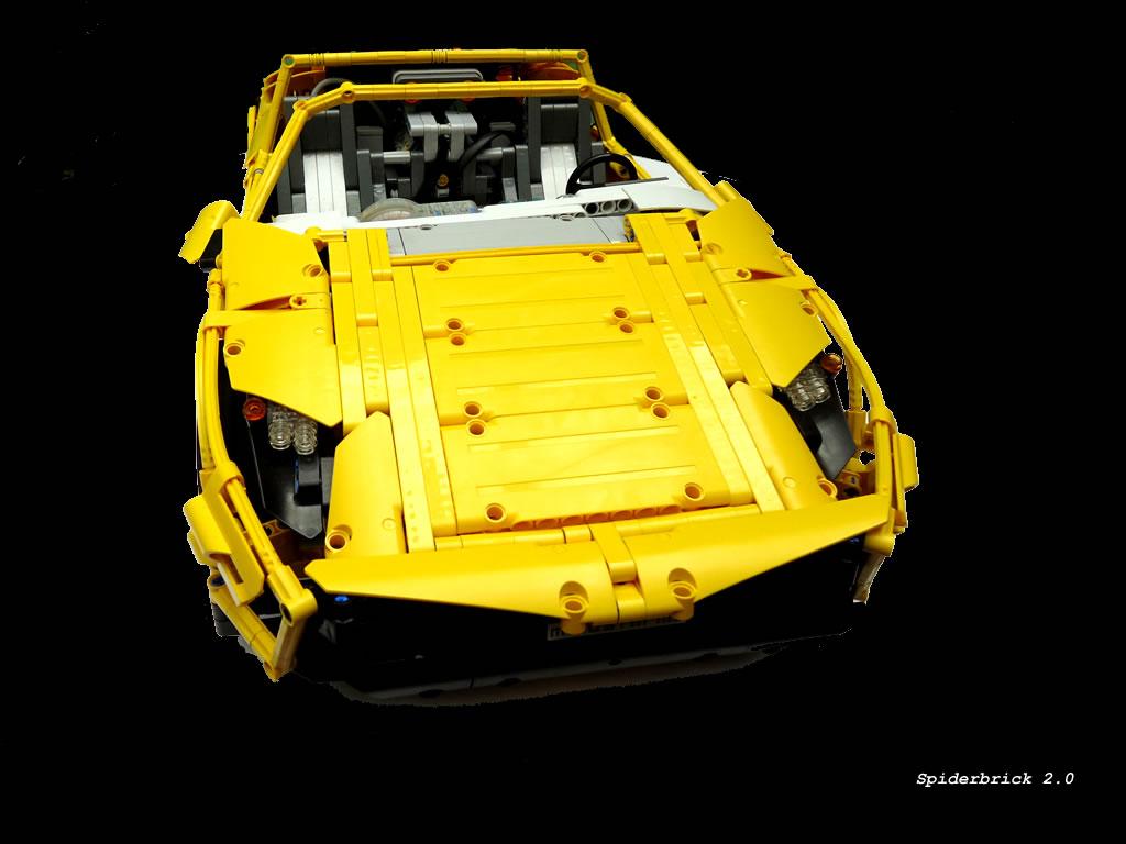 lego technic lamborghini the lego car blog. Black Bedroom Furniture Sets. Home Design Ideas