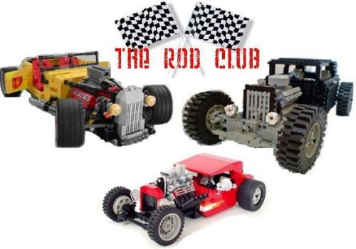 The Rod Club Lego Hot Rod
