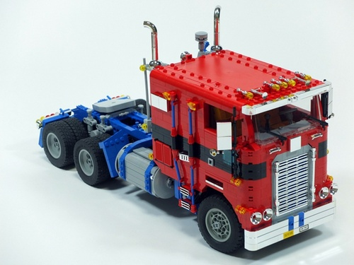 Lego Optimus Prime Transformers