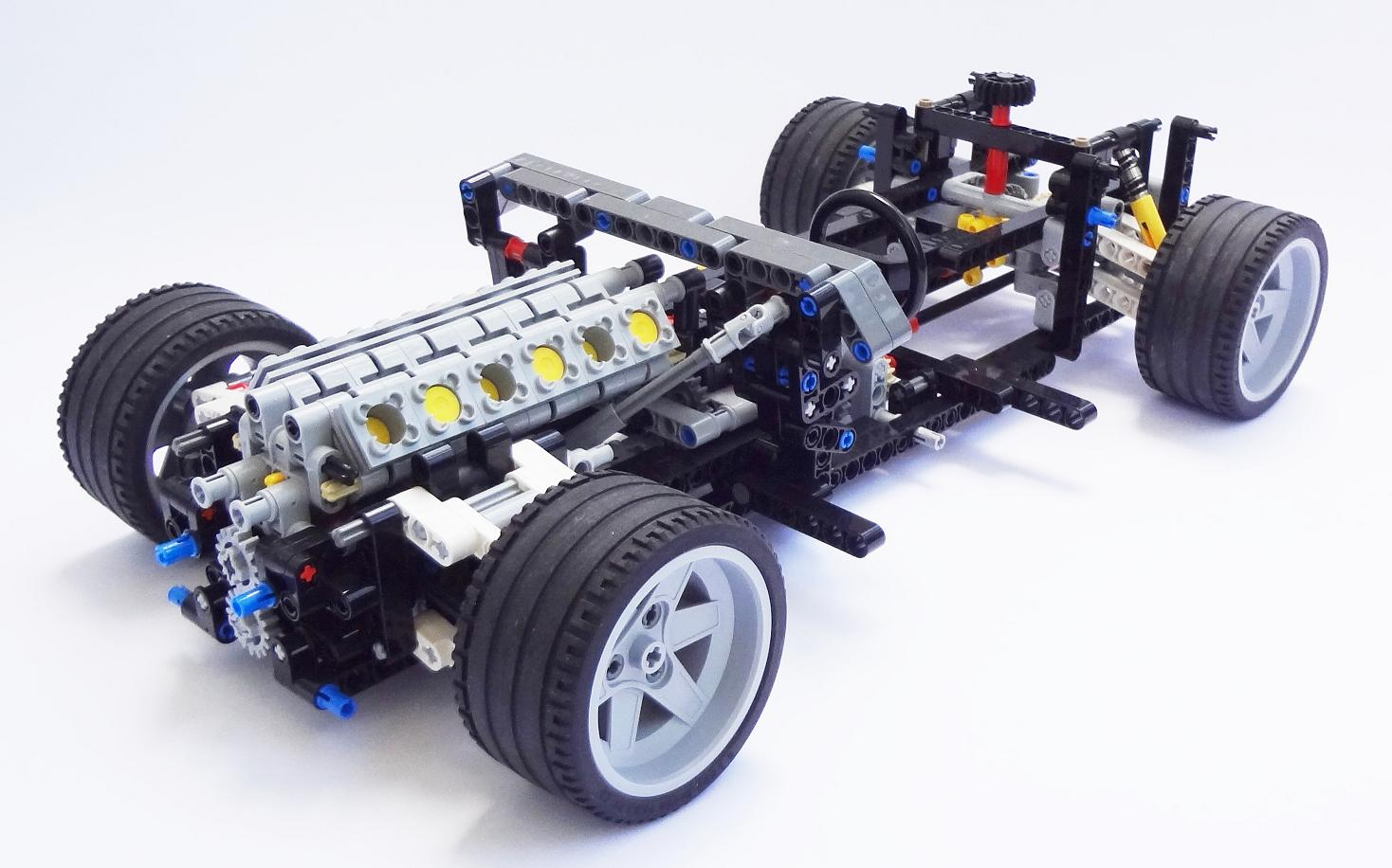 lego technic car chassis the lego car blog. Black Bedroom Furniture Sets. Home Design Ideas