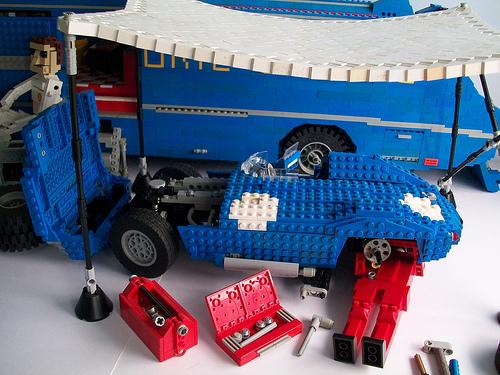 Lego Ecurie Ecosse Jaguar