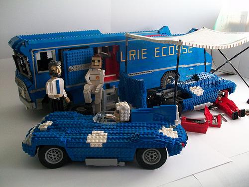 Lego Ecurie Ecosse Transporter