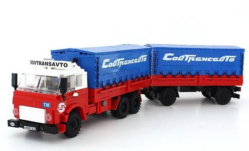 Lego MAZ Truck