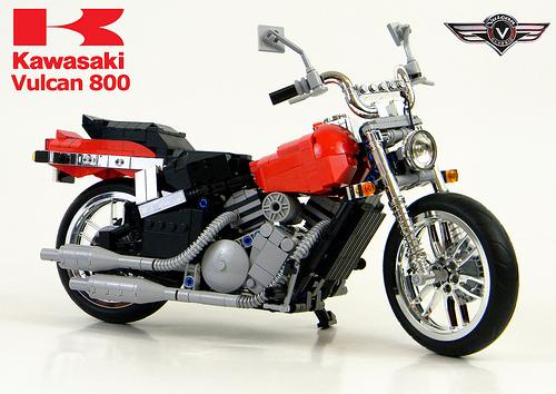 Lego Motorbike Kawasaki Vulcan