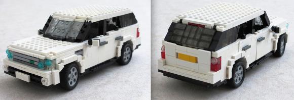 Lego Range Rover Sport