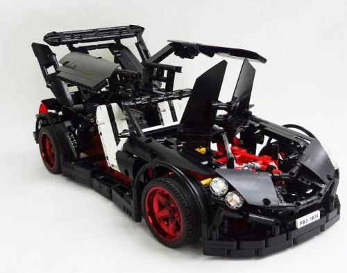 Crowkillers Vampire GT Lego Supercar