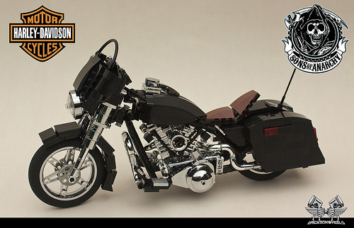 hump day motorcycle special the lego car blog. Black Bedroom Furniture Sets. Home Design Ideas