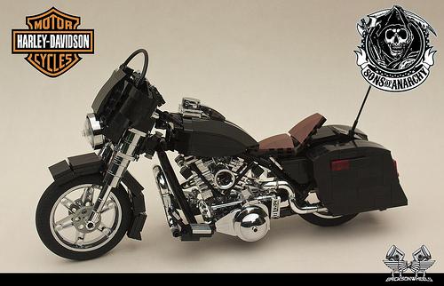 Lego Motorbike Harley Davidson