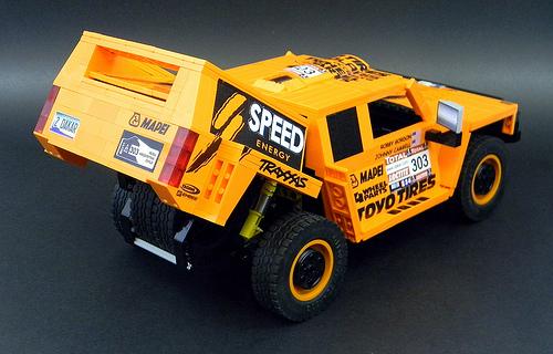 Lego Hummer Robby Gordon