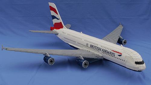 Lego Airbus A380 British Airways | THE LEGO CAR BLOG