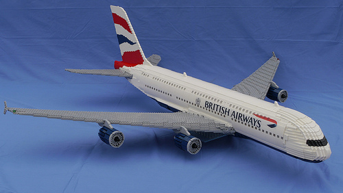 Lego Airbus A380 British Airways