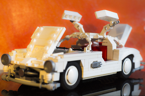 Lego Mercedes-Benz Gull Wing