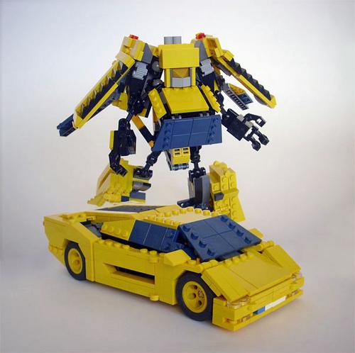 Lego Lamborghini Egoista: :ego Lamborghini Diablo Transformers