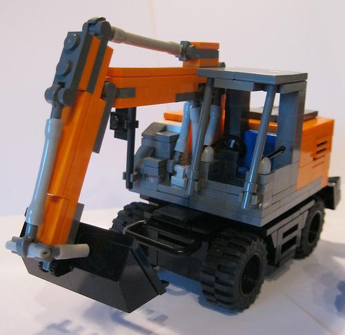 Lego Hitachi Excavator