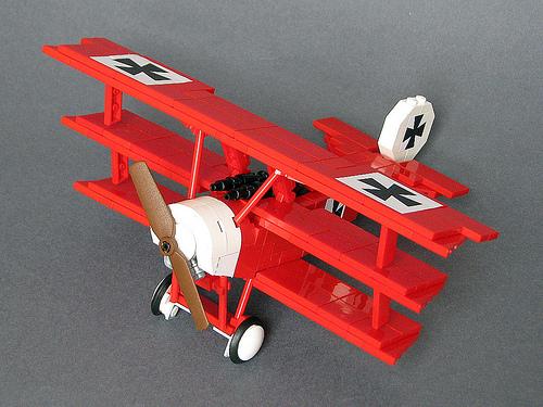 Lego Fokker Bi-plane