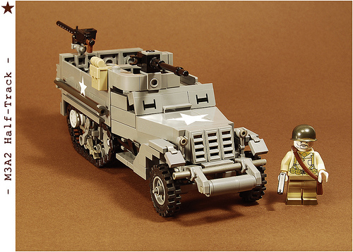 Lego M3A2 Half-Track