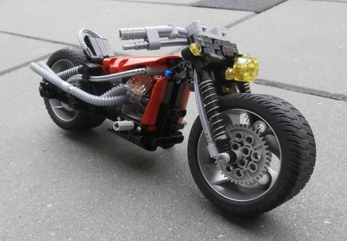 Lego Motorbike Fat Pig