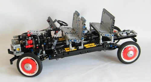Lego Technic Supercar Chassis