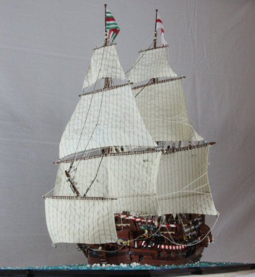 Lego Galleon Revenge 1577