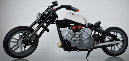 Lego Motorbike Hard Tail
