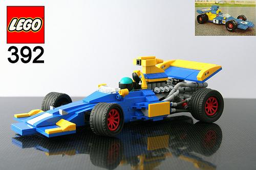 Lego 392 F1 Car