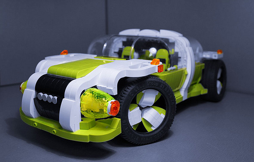 Lego Audi Quattro Concept   THE LEGO CAR BLOG