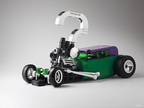 Lego Riddler Car Instructions
