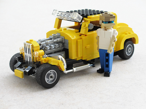 Lego American Graffiti Hot Rod