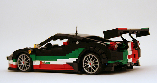 Ferrari 458 Italia GT3 Lego
