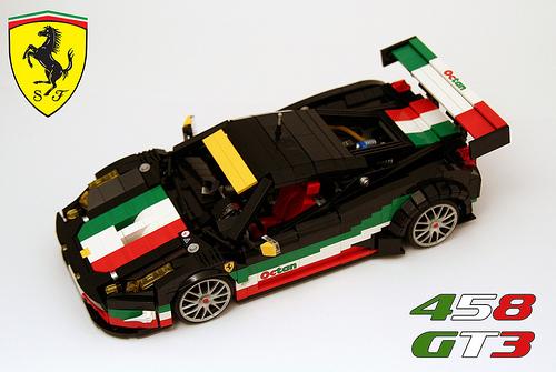 Lego Ferrari 458 Italia GT3