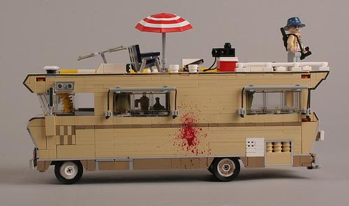 lego the walking dead the lego car blog. Black Bedroom Furniture Sets. Home Design Ideas