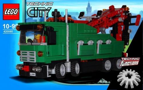 Lego 42008 Mini-Figure Scale