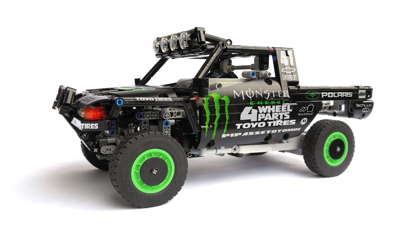 Lego Trophy Truck Rc The Lego Car Blog