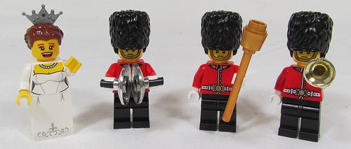 Lego Royal Minifigures