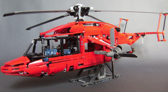 lego technic eurocopter x3 helicopter the lego car blog. Black Bedroom Furniture Sets. Home Design Ideas