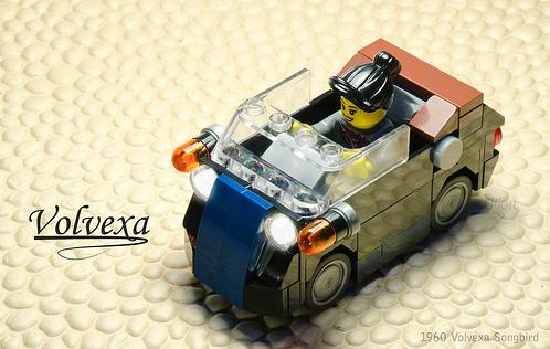 Lego Volvexa Convertible Car