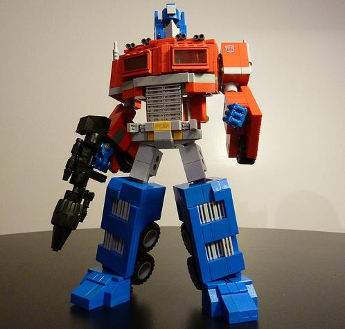 Lego Optimus Prime Transfomer