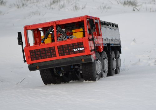 Lego Truck Trial Tatra 8x8