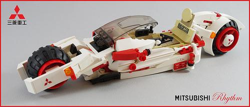 Lego Akira Tetsuo
