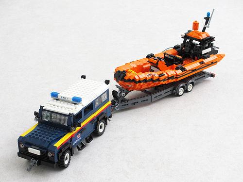 Lego RNLI Life Boat
