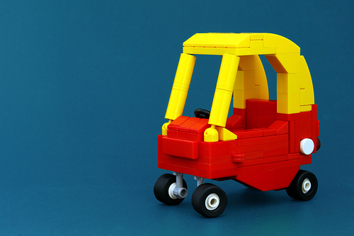 Lego Little Tyke Cozy Coupe