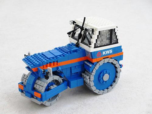Lego Road Roller