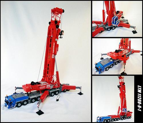 Lego Leibherr Crane