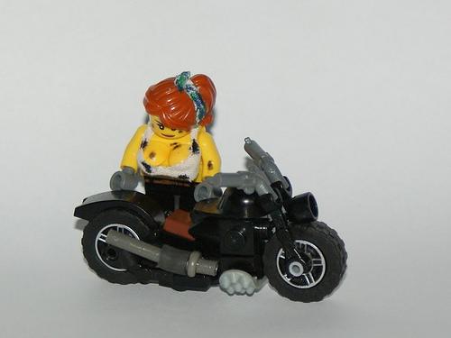 Lego Biker Chick