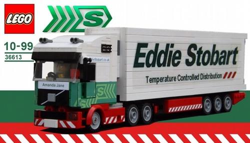 Lego Eddie Stobart