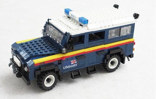 Lego RNLI Land Rover