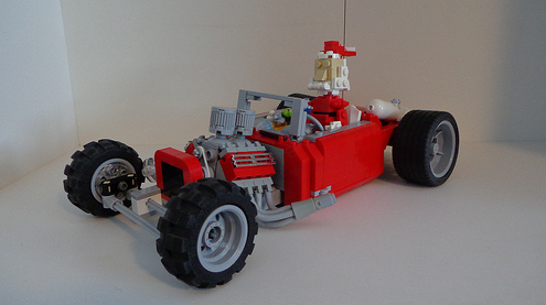 Lego Christmas Hot Rod