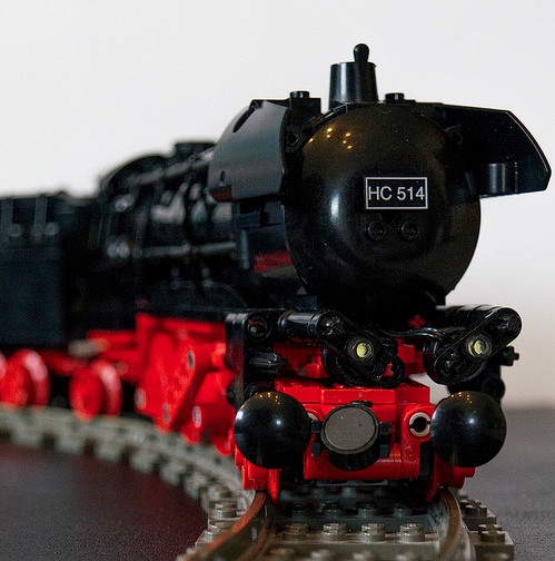 Lego Steam Locomotive