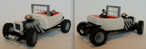 Lego T-Bucket Hot Rod